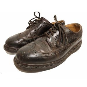 Dr.Martens Oxford Brogues Brown Leather Wingtip